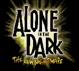 Alone in the Dark - The New Nightmare (USA) (En,Fr,Es) Title Screen