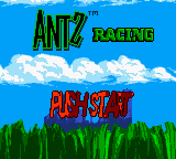 Antz Racing (Europe) (En,Fr,De,Es,It,Nl) Title Screen