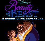 Beauty and the Beast - A Board Game Adventure (Europe) (En,Fr,De,Es,It) Title Screen