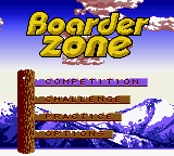 Boarder Zone (USA) Title Screen