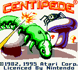 Centipede (Europe) (En,Fr,De,Es,It,Nl) Title Screen