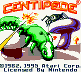 Centipede (USA) Title Screen