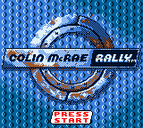 Colin McRae Rally (Europe) Title Screen
