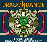 Dragon Dance (USA) Title Screen
