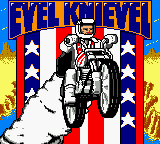 Evel Knievel (USA) Title Screen
