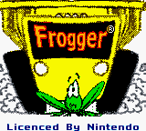 Frogger (Europe) (En,Fr,De,Es,It,Nl) Title Screen