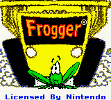Frogger (USA) Title Screen
