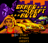 Grand Theft Auto (USA) Title Screen