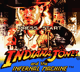Indiana Jones and the Infernal Machine (USA, Europe) (En,Fr,De) Title Screen