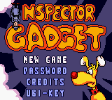 Inspector Gadget - Operation Madkactus (USA) Title Screen