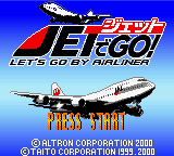 Jet de Go! (Japan) Title Screen