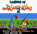 Legend of the River King 2 (USA) Title Screen