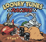 Looney Tunes Racing (USA) (En,Fr,De,Es,It,Nl) Title Screen