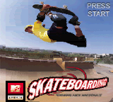 MTV Sports - Skateboarding featuring Andy MacDonald (USA) Title Screen