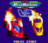 Micro Machines V3 (USA, Europe) Title Screen