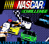 NASCAR Challenge (USA) Title Screen