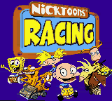 Nicktoons Racing (USA) Title Screen