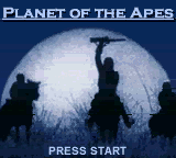 Planet of the Apes (Europe) (En,Fr,De,Es,It,Nl) Title Screen