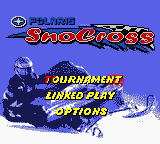 Polaris SnoCross (USA) Title Screen