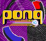 Pong - The Next Level (USA, Europe) Title Screen