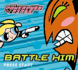 Powerpuff Girls, The - Battle Him (USA) Title Screen