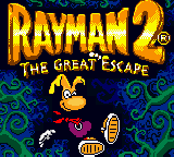 Rayman 2 - The Great Escape (Europe) (En,Fr,De,Es,It) Title Screen