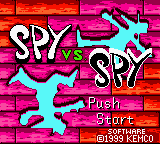 Spy vs. Spy (Japan) Title Screen