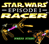 Star Wars Episode I - Racer (USA, Europe) Title Screen