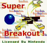 Super Breakout! (USA) Title Screen