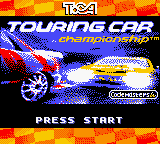 TOCA Touring Car Championship (USA) Title Screen