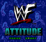 WWF Attitude (USA) Title Screen
