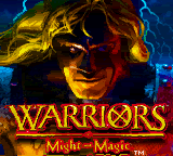 Warriors of Might and Magic (USA) (En,Fr,De) Title Screen