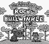 Adventures of Rocky and Bullwinkle, The (USA) (Beta) Title Screen
