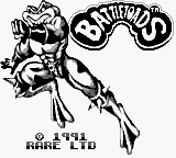 Battletoads (USA, Europe) Title Screen
