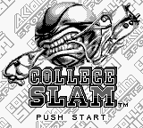 College Slam (USA) Title Screen