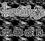 Lemmings (Europe) Title Screen