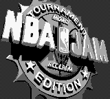 NBA Jam - Tournament Edition (Japan) Title Screen