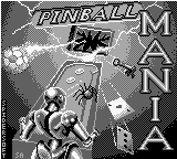 Pinball Mania (Europe) Title Screen
