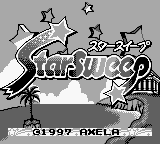 Star Sweep (Japan) Title Screen