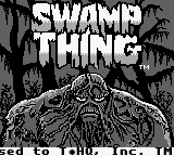 Swamp Thing (USA, Europe) Title Screen