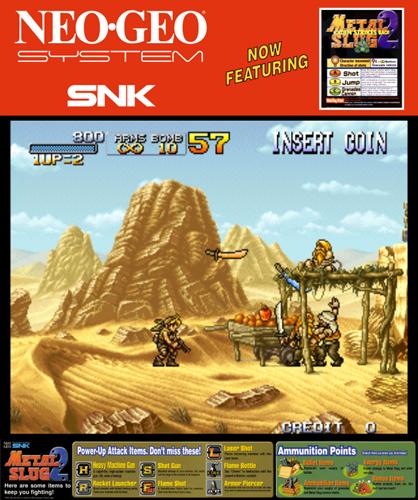 Metal Slug 2: Super Vehicle-001/II ROM