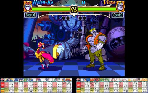 Night Warriors: Darkstalkers' Revenge (Euro 950316) ROM < MAME ROMs