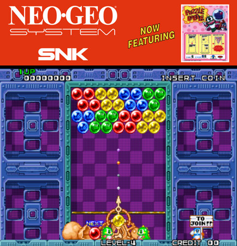 Puzzle Bobble / Bust-A-Move (Neo-Geo, NGM-083) ROM