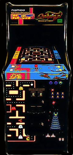 Ms. Pac-Man/Galaga - 20th Anniversary Class of 1981 Reunion (V1.04) Cabinet