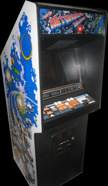 Asteroids Deluxe (rev 2) Cabinet