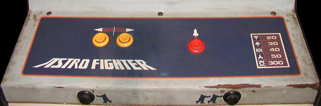 Astro Fighter (set 1) Cabinet