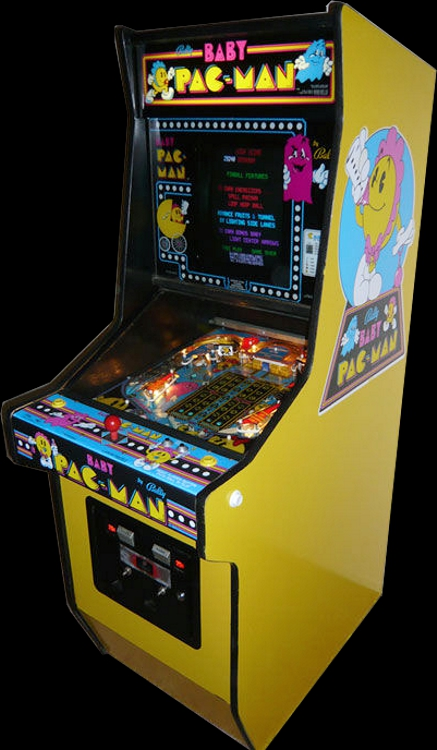 Baby Pac Man set 1 ROM