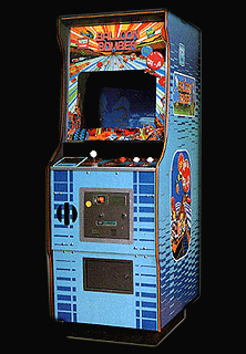 Balloon Bomber Cabinet
