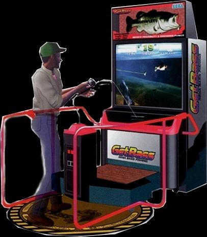 Sega bass fishing japan rom for Arcade fishing games