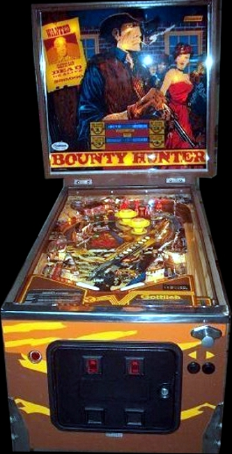 Bounty Hunter Cabinet